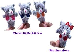 Achun Marionetas de Dedo para Bebé Actividades Ideal 4 ...