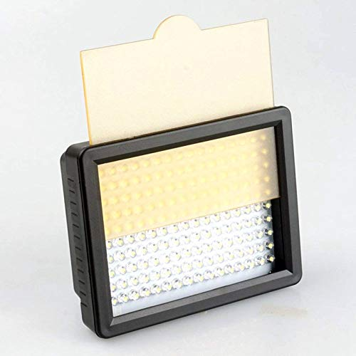 160 Led Video Light Portable Camera Photo Light Panel Dimmable for DSLR Camera Camcorder with Charger High Brightness