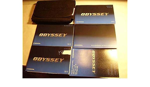 honda odyssey manual 2013