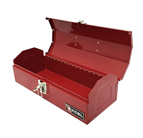 Excel TB109-Red Steel Tool Box, Red by Excel (Image #1)