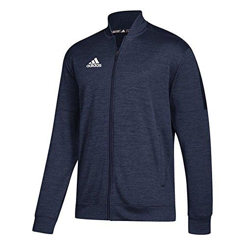 adidas Athletics Team Issue Bomber, Collegiate Navy Melange/White, 3X-Large by adidas