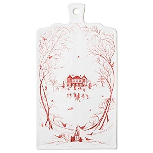 Juliska Country Estate Winter Frolic Ruby Serving Board