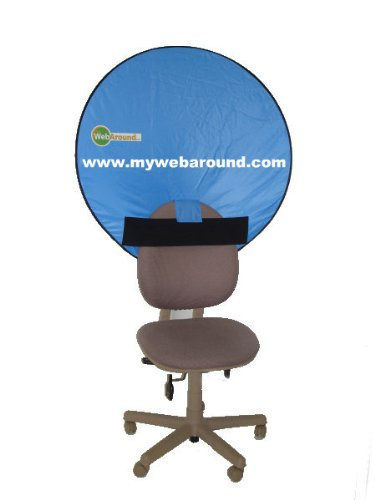 "Webaround a 42"" Webcam Background, Professional, Portable..."
