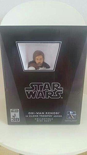 Japan Import World 5000 limited Gentle Giant Star Wars Obi-Wan Kenobi in Clone Trooper Armor Mini Bust