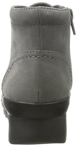 Hop Grey Black Women's Grey Clarks Top UK Grey Sneakers Hi Caddell 4 EfvpqB