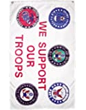 Flag We Support Our Troops Review