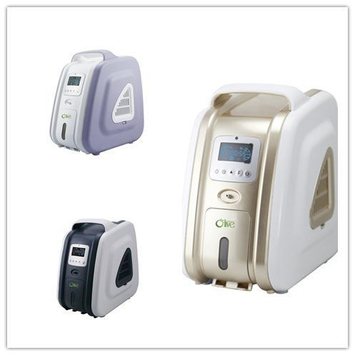 HouseHold Server 3L 93% Purity Smart Medical Oxygen Concentrator Generator For COPD 110V Air Purifier Oxygen Machine (Gold)