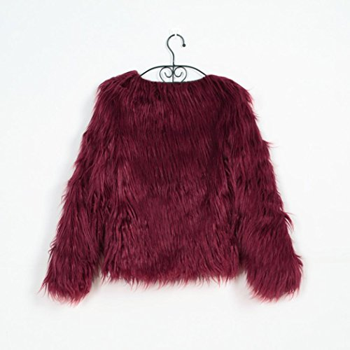 Womens Parkas Lined Jackets and with Coats Outwear Wine Ladies Fur Winter ZARPnZ