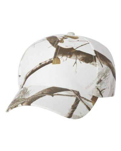 Joe's USA TM Camouflage Caps-Realtree.AP.White