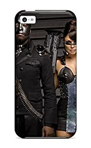 Faddish Phone Black Eyed Peas Anime Case For Iphone 5c / Perfect Case Cover