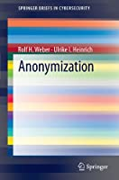 Anonymization Front Cover