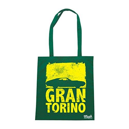 Borsa GRAN TORINO FILM - Verde Bottiglia - FILM by Mush Dress Your Style