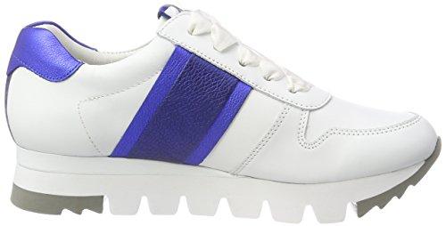 Weiß ocean Und Sohle Weiß Baskets Lion bianco Kennel Femme Schmenger cobalto 7nqaTaB6v