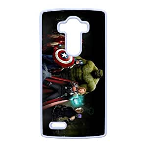 LG G4 Cell Phone Case White The Avengers F6559144