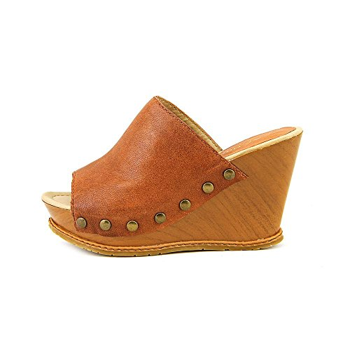 Kenneth Cole Reaction - Sandalias de vestir para mujer cobre