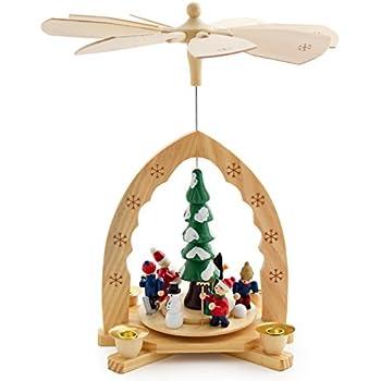 Amazon.com: Christmas Decoration Pyramid 18 Inches Nativity Play 3 ...