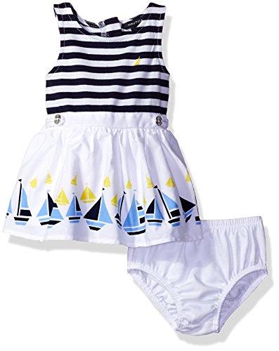 Nautica Girls Poplin Engineer Dress