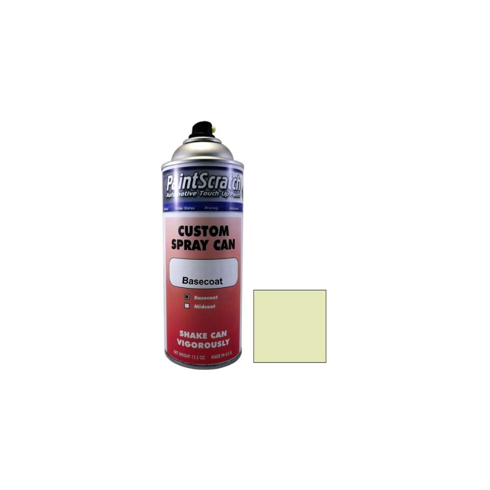 12.5 Oz. Spray Can of Prehnite Green Metallic Touch Up Paint for 2009 Mercedes Benz SLK Class (color code 430/6430) and Clearcoat