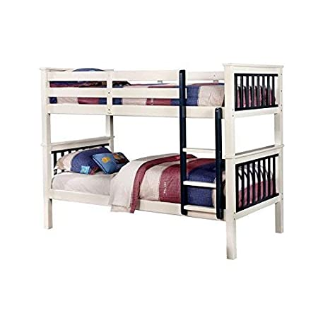 Coofel Bunk Beds For Kids Twin Over Full Size With Ladder Black Bed Frames Headboards Footboards Toys Games Fcteutonia05 De