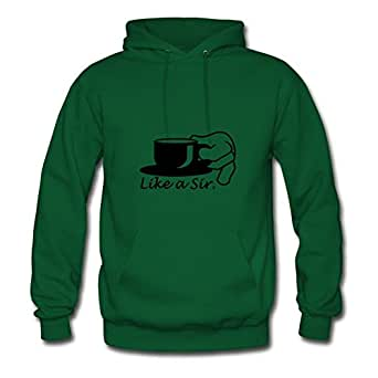 Lynsnyd Customized Women Like A Sir (tea, 1c) Hoodies - Like A Sir (tea, 1c) Image In X-large