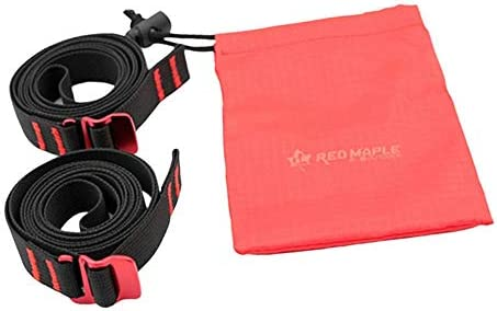 SM SunniMix プル荷物 屋外 ストラップ コード テープロープ アルミ合金フック付き 登山コード クライミング ロープ