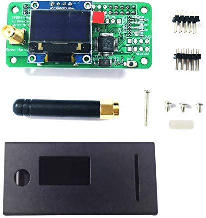 Hima Antenna + OLED + MMDVM Hotspot + Black Case Support for sale  Delivered anywhere in USA