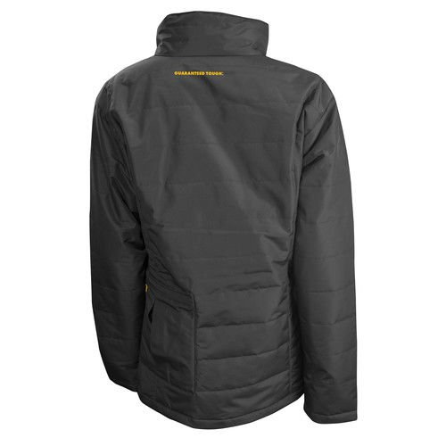 DEWALT DCHJ077D1-XS Women's Quilted Heated Jacket, X-Small, Black