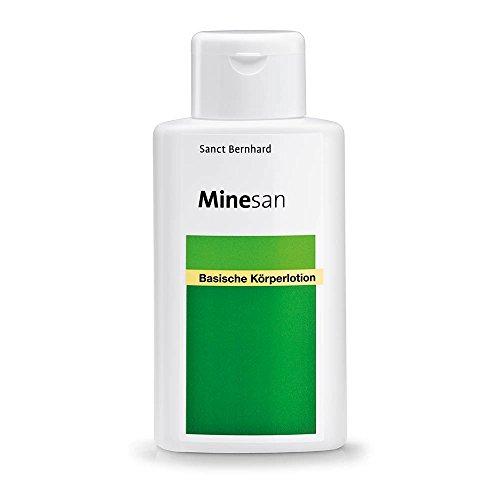 Minesan Basische Körperlotion mit Hamamelis, Kamille, Melisse, Makadamiaöl 250 ml