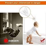 Maveek 8 Packs Sliding Door Lock for Child