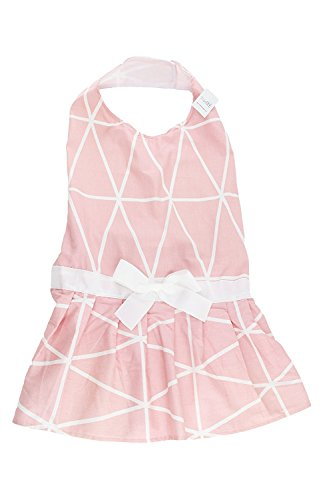 Image of Midlee Pink Geometric Big Dog Dress by (X-Large)