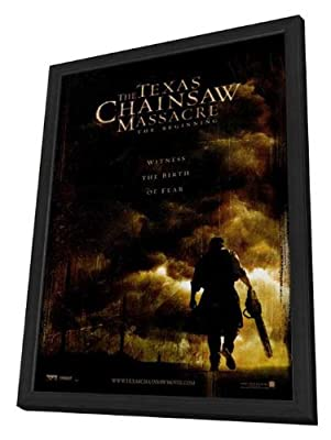 The Texas Chainsaw Massacre: The Beginning 27 x 40 Movie Poster - Style A - in Deluxe Wood Frame