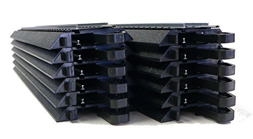 HO Scale Bachmann Steel Alloy EZ Track 12 Pieces of 9 inch straights for Model ()