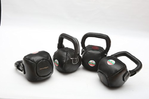 Kettlebell Leather-18lbs(Small/Green)