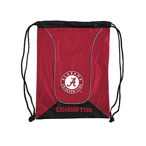 The Northwest Company Officially Licensed NCAA Alabama Crimson Tide Doubleheader Backsack Alabama Crimson Tide Nylon Backpack