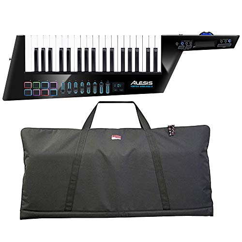 Alesis Vortex Wireless 2 USB/MIDI Keytar Controller with Gator GKBE-49