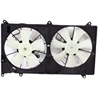 MAPM Premium IS350 06-09 RADIATOR FAN SHROUD ASSEMBLY, Dual, 3.5L Eng.