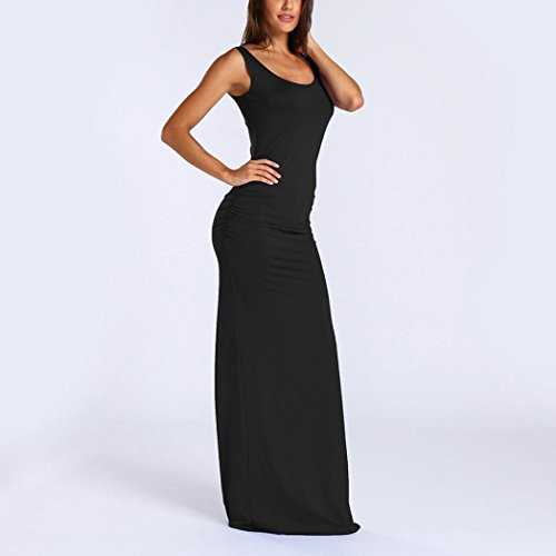 dcontracte Femme Sexy Neck sans Malloom O Maxi Robe Summer Manches f6ppBq