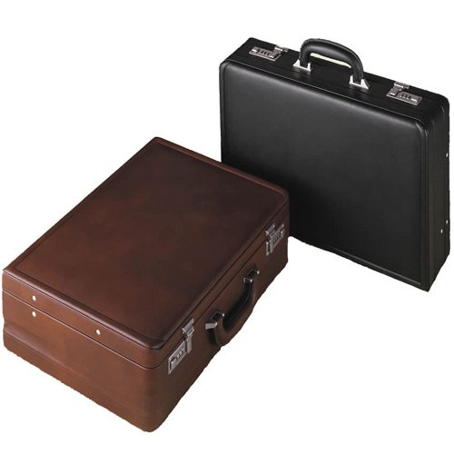 (Samsonite Attache Expandable Leather Attache Black)