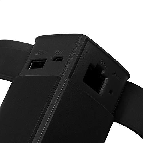 HooToo Wireless Travel Router, USB Port, High Performance, 10400mAh External Battery Pack Travel Charger - TripMate Titan (Not a Hotspot)