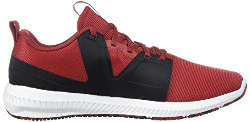 Reebok Heren Hydrorush Tr Sneaker Rijke Magma / Zwart / Wit