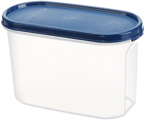 Signoraware Modular Container Oval No.2 Container, 1.1 Litres, Mod Blue