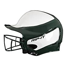 RIP-IT Vision Pro Softball Helmet/Face Guard ft. Blackout Technology