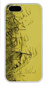 Hot iPhone 5S Customized Unique Print Design Windmills New Fashion PC White iPhone 5/5S Cases
