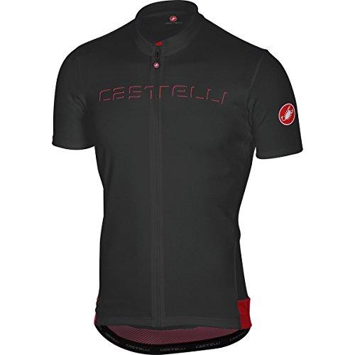 Castelli Prologo V Jersey - Men's Black, M from Castelli