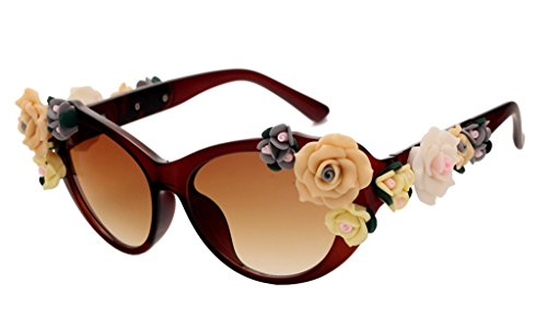 Retro Baroque Holograms Rose Sunglasses For - Guys For Best Looking Sunglasses
