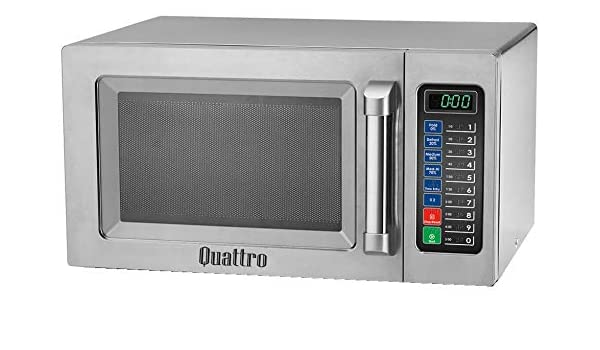 Quattro 1000 W programable comercial Catering microondas: Amazon ...