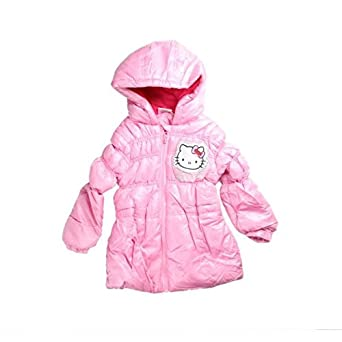 194c9ac7cdc15 Hello Kitty - Doudoune - fille - Rose  Amazon.fr  Vêtements et ...