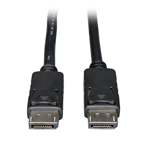 Tripp Lite DisplayPort Cable with Latches (M/M), DP to DP, 4K x 2K, 6-ft. (P580-006)