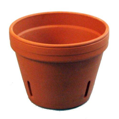 Terra Cotta Orchid Pots - Clay Orchid Pot - 7.75