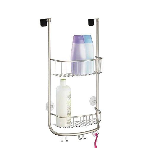 InterDesign Bathroom Storage Shelves Satin Forma Over Door S